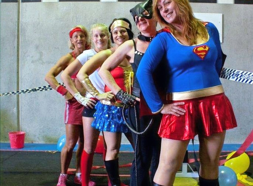 WHERE THE SUPER HEROES WORKOUT