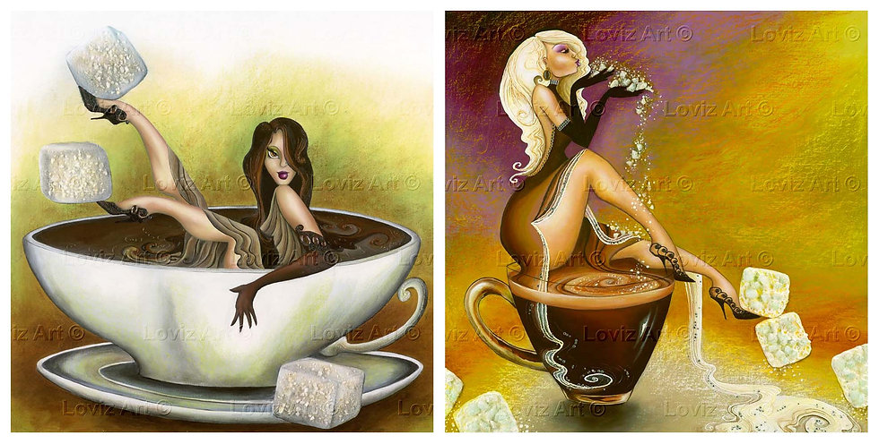 Sweet Coffee- Set