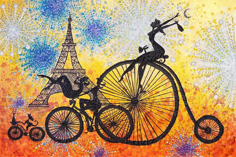 Riding a Parisian Party