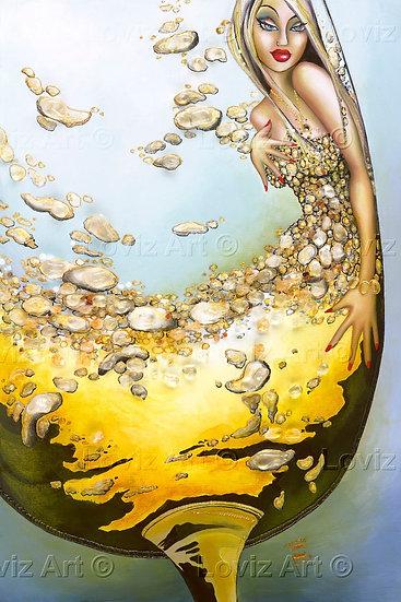 Crystal Liquid Gold