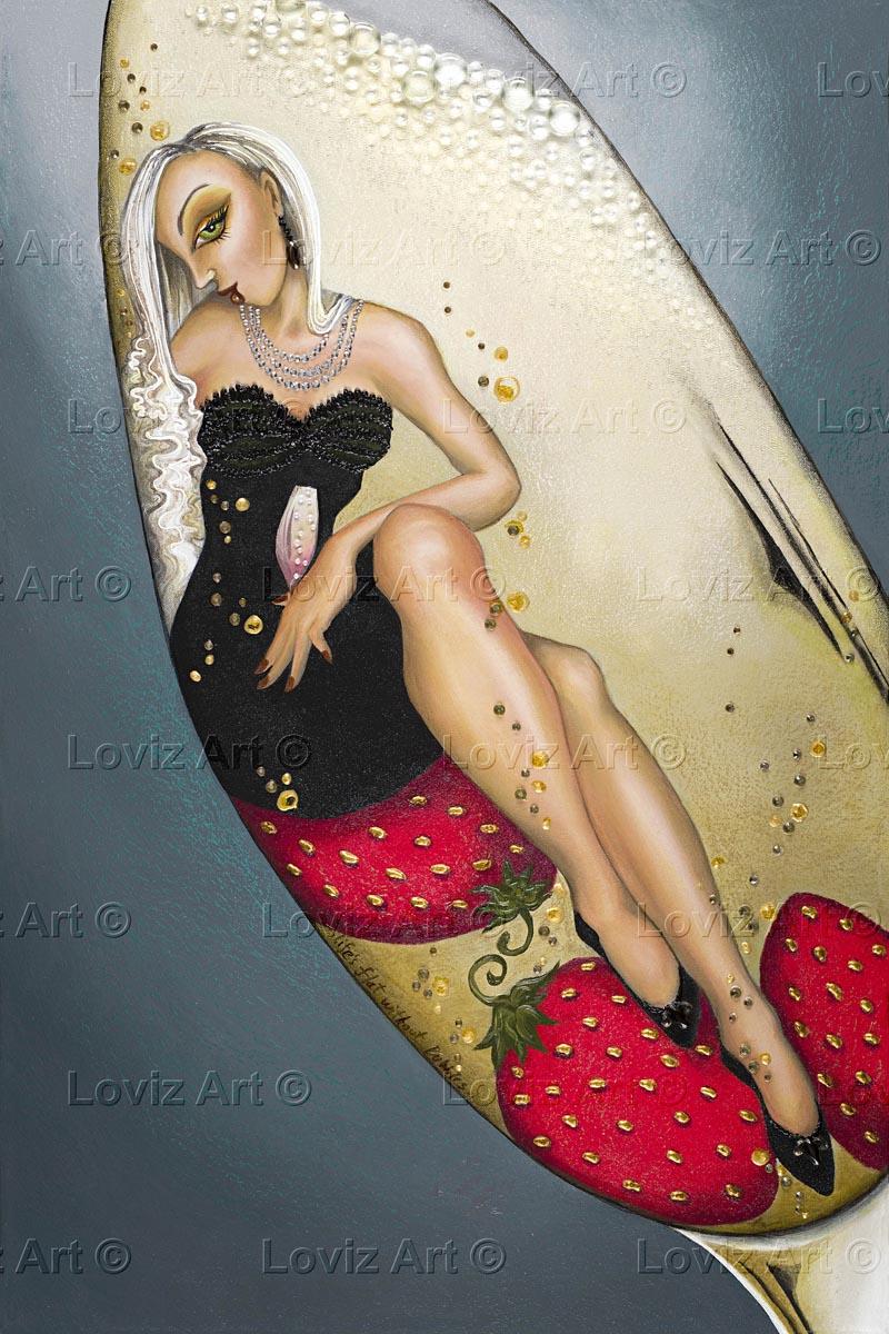 1709_Miss Sparkling Cuvee 50x75cm