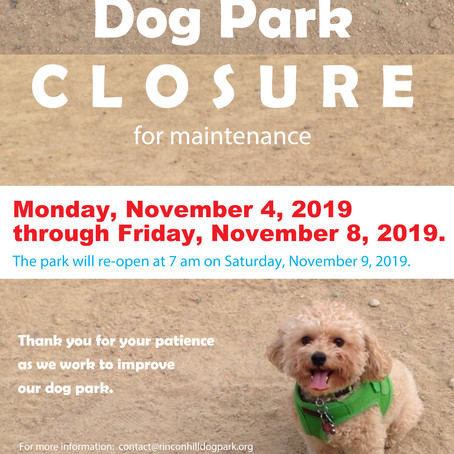 Park Closure Announcement