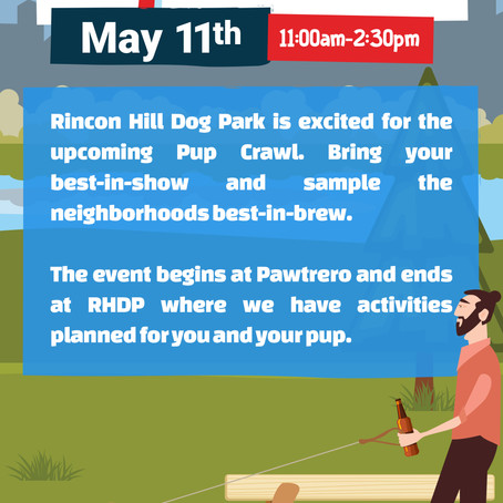 Countdown to Pup Crawl Event