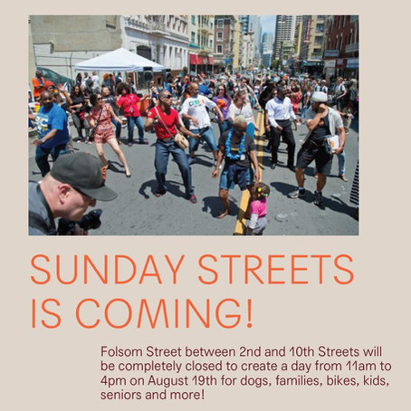 Sunday Streets Hits Folsom (Volunteers Needed)