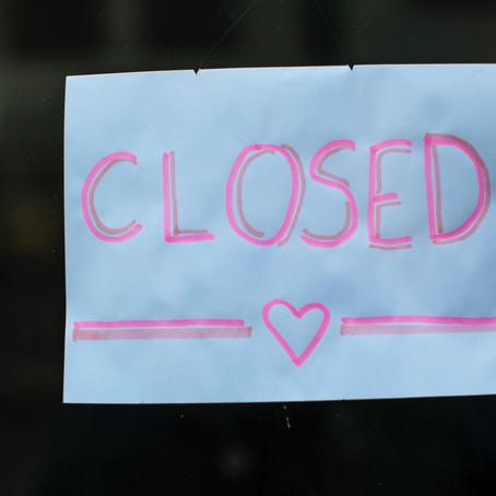 COVID-19 Park Closure