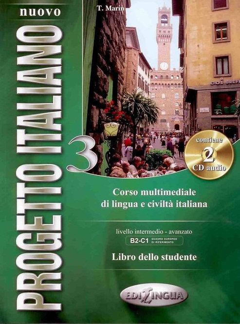 NUOVO PROGETTO ITALIANO 3 - LIBRO DELLO STUDENTE + 2 CD AUDIO