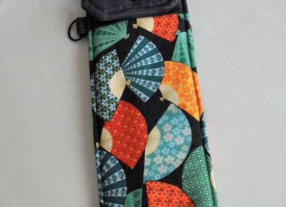 Bachi Bag with coordinating flap