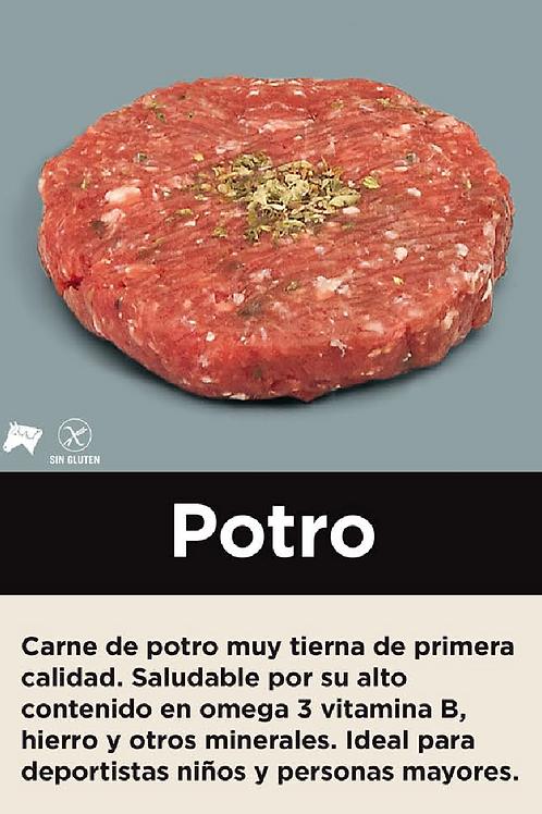 Hamburguesa de Potro