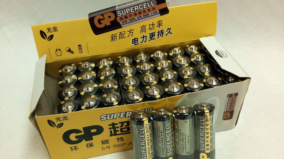 Batterij R6-AA doos van 40 stuks