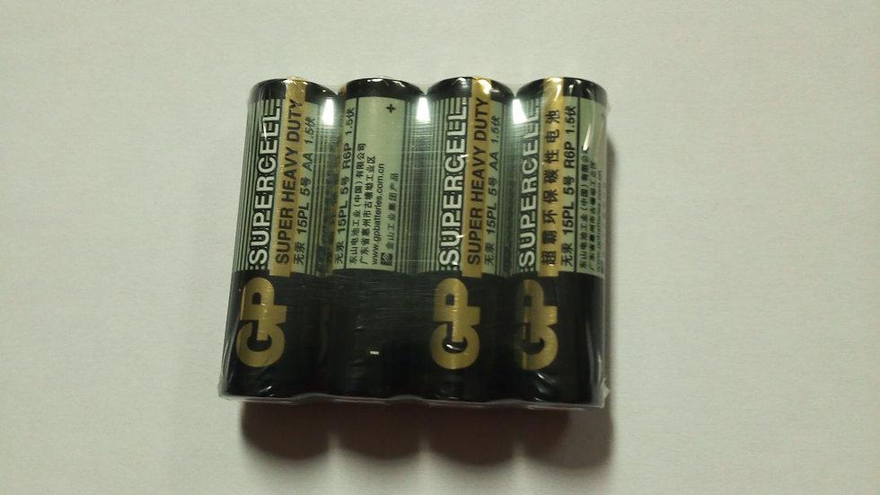 Batterij R6-AA set van 4