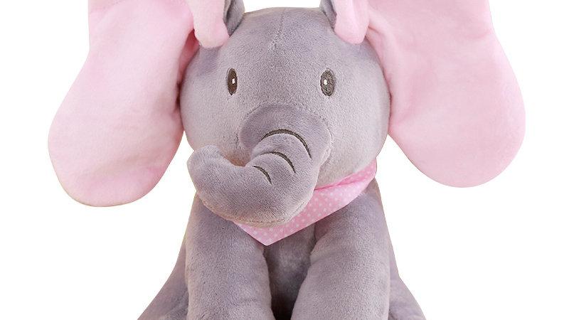 zingende olifant -  éléphant chantant - singing elephant