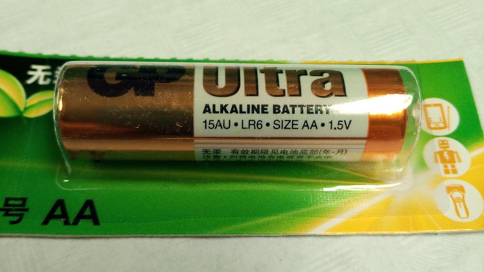 Batterij R6-AA ALKALINE set van 5