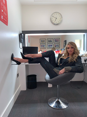 Hair & makeup for Nadine Coyle- The One Show