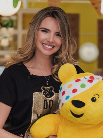 Hair & makeup for Nadine Coyle- Children in Need