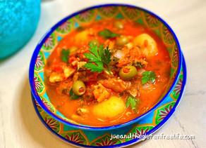 Bacalao A la Vizcaína (Basque Codfish Stew)