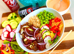 Gluten Free Spicy Hawaiian Poke Bowl