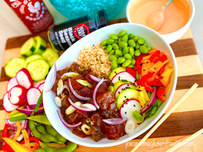 Gluten Free Spicy Hawaiian Poke Bowl