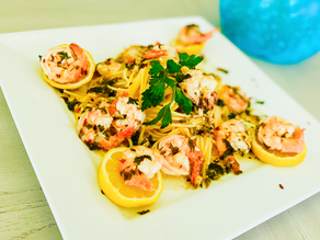 Gluten Free Shrimp Scampi