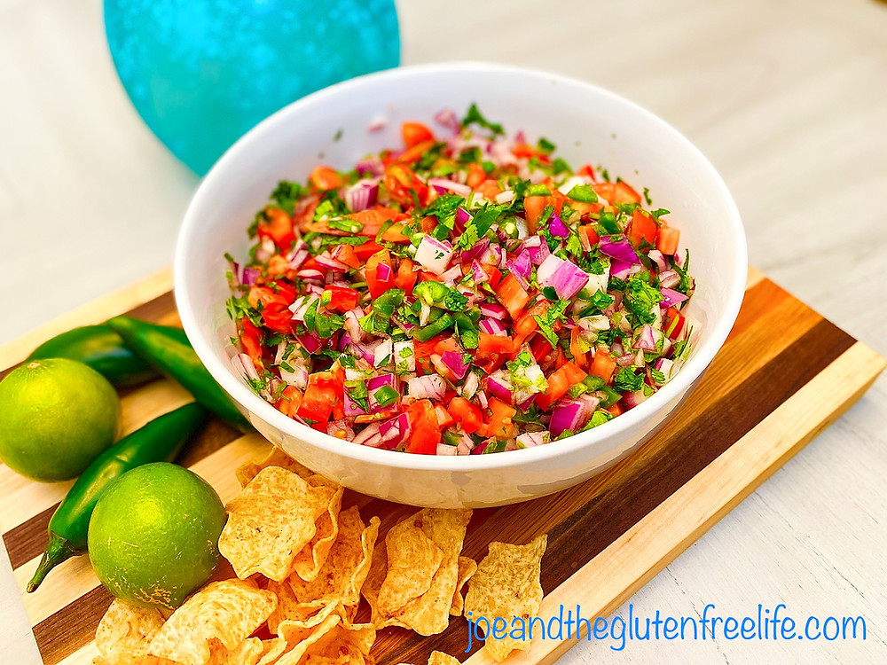 Learn how to make this traditional Mexican chunky salsa that is perfect for game day or parties!