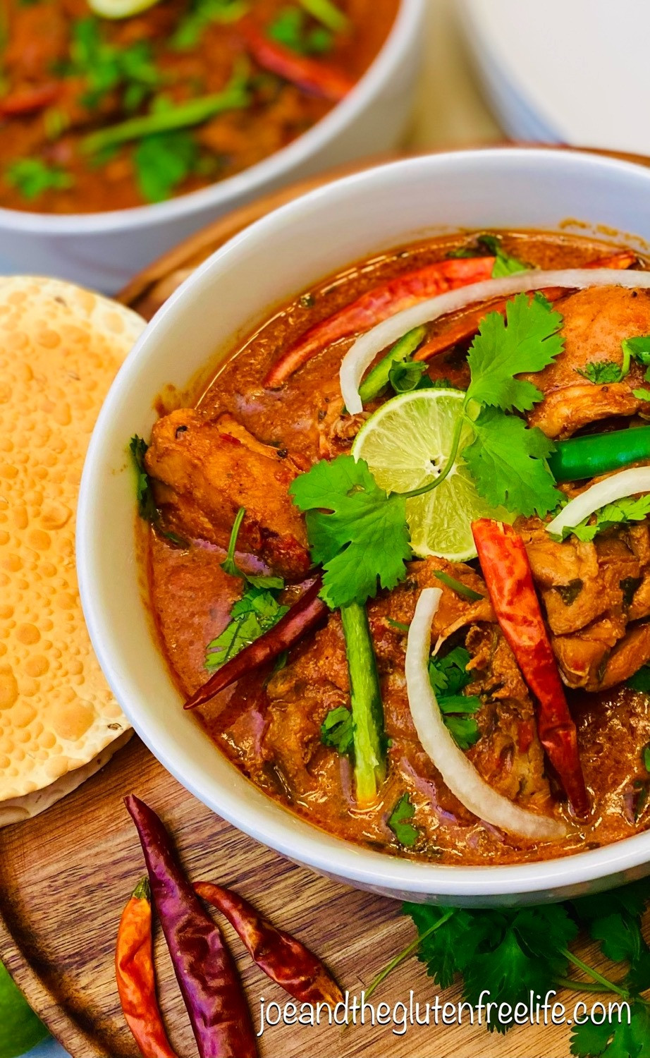 Learn how to make this delicious chicken curry from Northern India and Pakistan!
