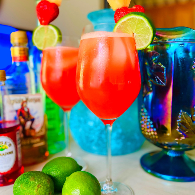 Caribbean Rum Punch & Fruit Punch