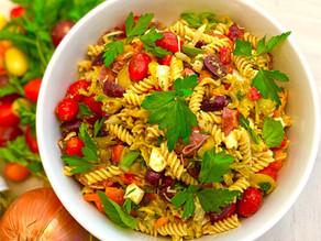 Mediterranean Pasta Salad (GF)