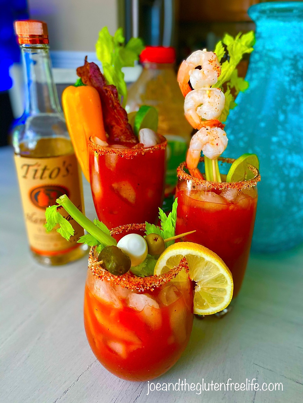 The best Bloody Mary you will ever have and 100% gluten free!
