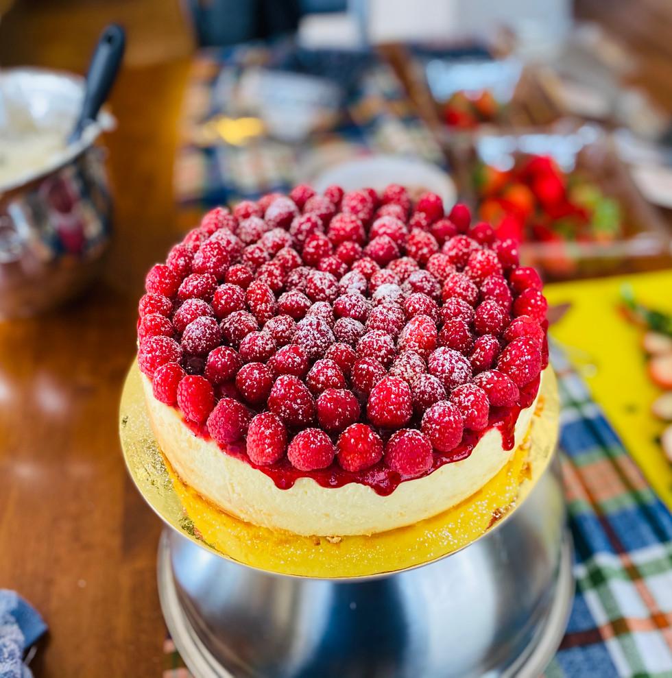 White Chocolate With Rasberries