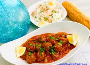 Pasha's Meatballs in Tomato Sauce