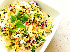 "Joe's ""Spicy Hot"" Coleslaw"
