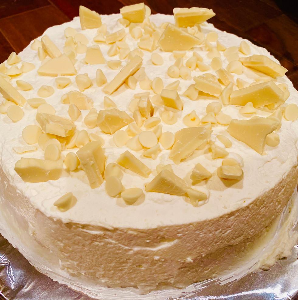 White Chocolate & French Vanilla Cheesecake