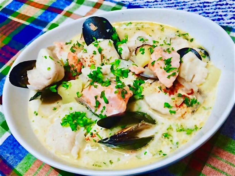 Irish Creamy Fish Stew