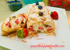 Summer Meringue Roulade