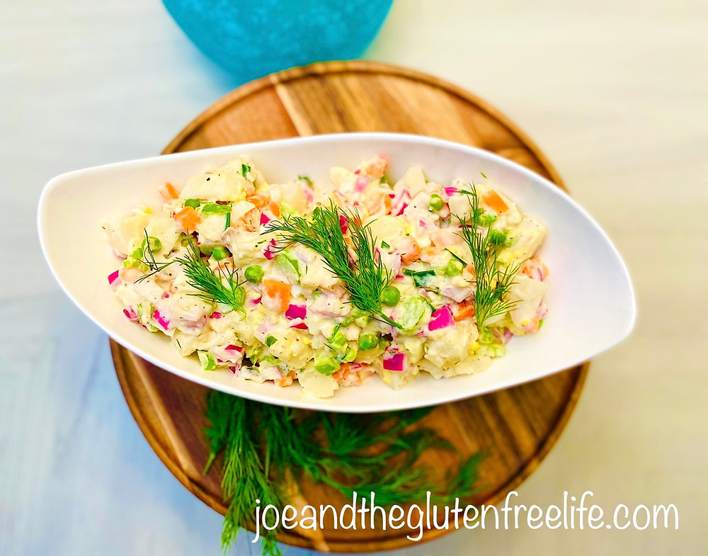 A scrumptious cold salad perfect for your New Year's Eve celebrations!