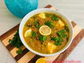 Lentils & Spinach Soup (Bedouin Soup)