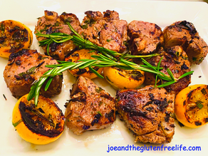 Grilled Lamb Chops (Greek Style)