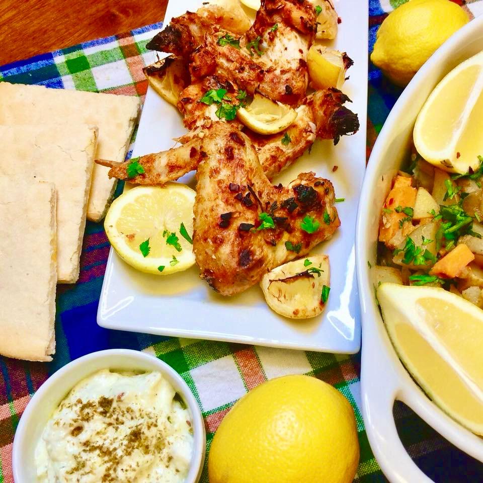 Jawaneh (Spicy Palestinian Chicken Wings)