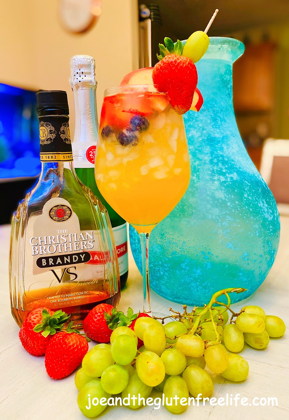 The refreshing Spanish libation made simple! Perfect for parties and large gatherings!