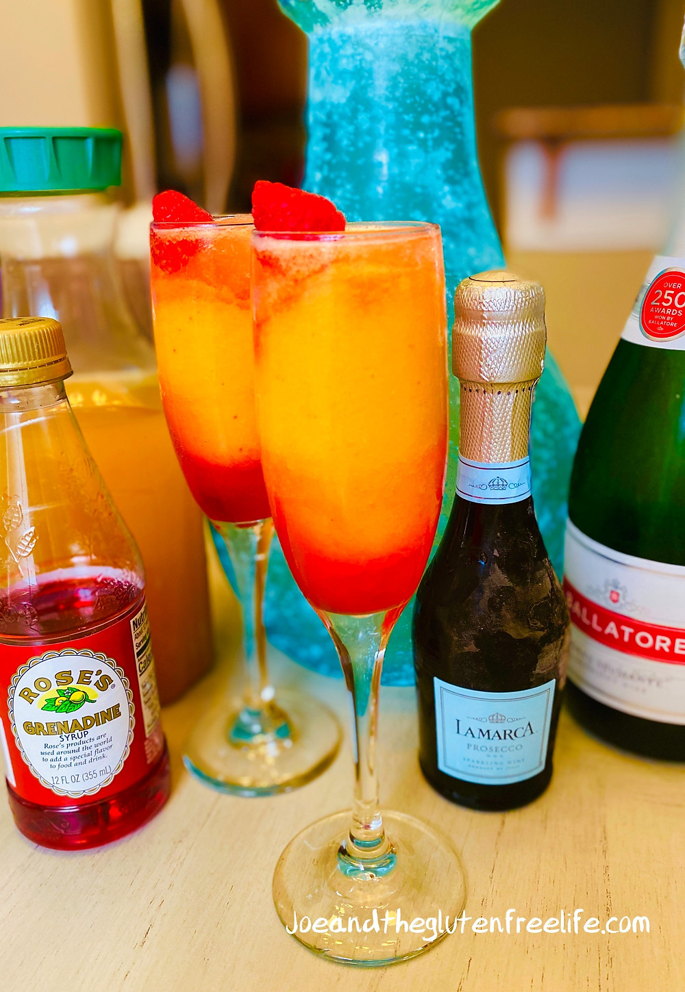 Refreshing and delicious: A new twist on the traditional peach Bellini.