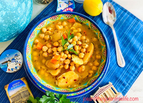 Greek Chickpea Soup (Revithosoupa)