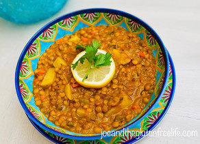 Lentils and Potato Soup