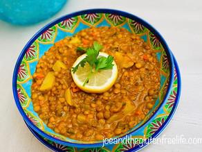 Lentils and Potato Soup