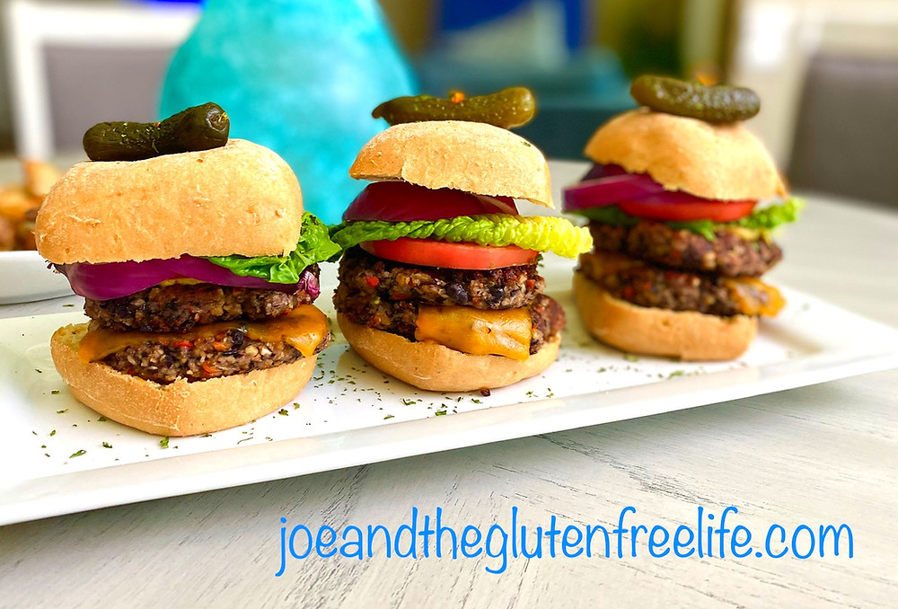 Delicious, full of flavor, easy-to-make gluten free black bean burger!