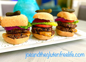 Gluten Free Black Bean Burger