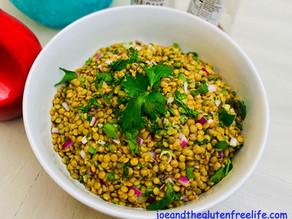Easy Lentils & Mint Salad