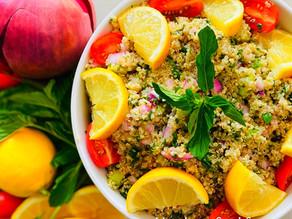 Quinoa Tabbouleh (Gluten Free)