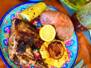 Gluten Free Grilled Chicken Caribbean Style