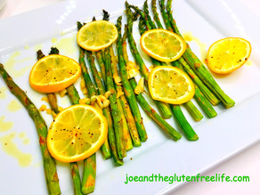 Asparagus with Garlic and Lemons