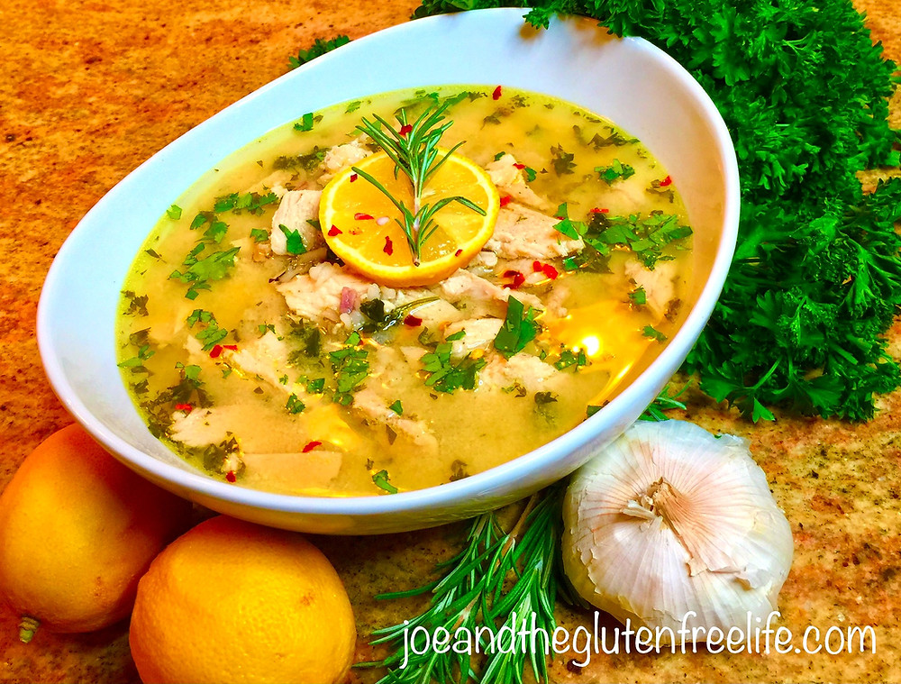 A wonderful Greek Egg-Lemon Chicken Soup with deep flavors that are truly satisfying!