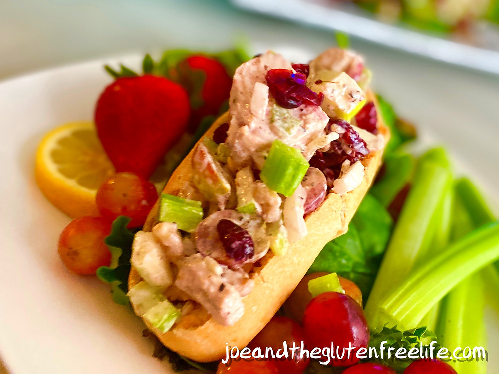 Delicious and easy to make! This traditional chicken salad is made with fresh fruits, vegetables, and baked chicken!